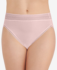 Vanity Fair Women's Flattering Lace Hi-Cut Panty 13280