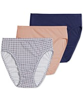 0832673848b1 Jockey Elance French Cut 3 Pack 1485 1487, also available in extended sizes