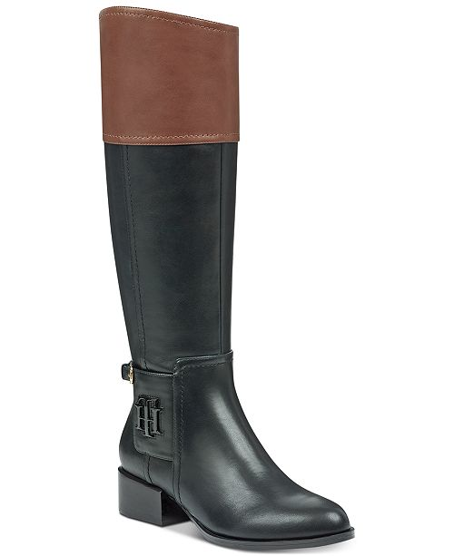 f3fe09849855 Tommy Hilfiger Merritt Riding Boots  Tommy Hilfiger Merritt Riding Boots ...