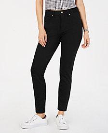 Tommy Hilfiger Skinny Five-Pocket Ponté Pants, Created for Macy's