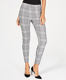 INC Plaid Skinny Pants, Created for Macy's