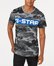 G-Star RAW Men's Camo T-Shirt, Created for Macy's