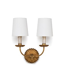 Clove Double Sconce