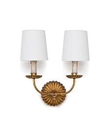 Regina Andrew Design Clove Double Sconce