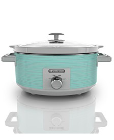 Black & Decker 7-Qt. Control Slow Cooker