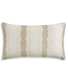 "Hotel Collection Birch 14"" x 24"" Decorative Pillow, Created for Macy's"