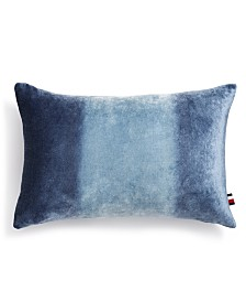 "Tommy Hilfiger Kings Canyon Ombré 12"" x 18"" Decorative Pillow"