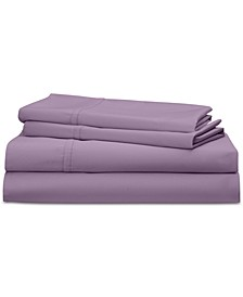 Spencer Cotton Sateen Count 4-Pc. Solid California King Sheet Set