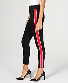 I.N.C. Side-Stripe Skinny Pants, Created for Macy's