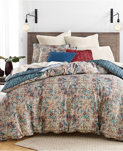 Lucky Brand Alma Reversible Bedding Collection Created