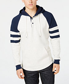 American Rag Men's Henley Hoodie, Created for Macy's