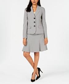 Le Suit Petite Skirt Suit