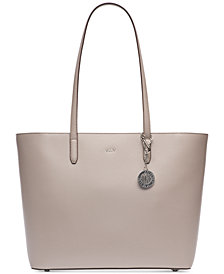 DKNY Bryant Sutton Leather Zip Tote, Created for Macy's