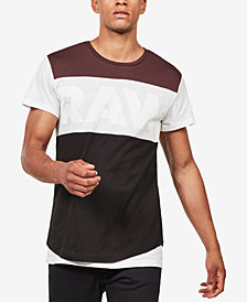 G-Star RAW Men's Starkon Colorblock T-Shirt, Created for Macy's