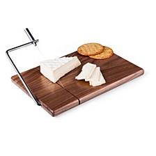 Toscana® by Meridian Black Walnut Cutting Board & Cheese Slicer