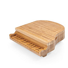 Picnic Time Piano Cheese Cutting Board & Tools Set