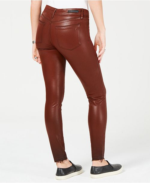 a3afef268047 Articles of Society Sarah Coated Ankle Skinny Jeans   Reviews ...