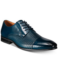Florsheim Men's Calipa Woven Cap-Toe Oxfords