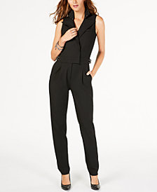 MICHAEL Michael Kors Embellished Sleeveless Jumpsuit