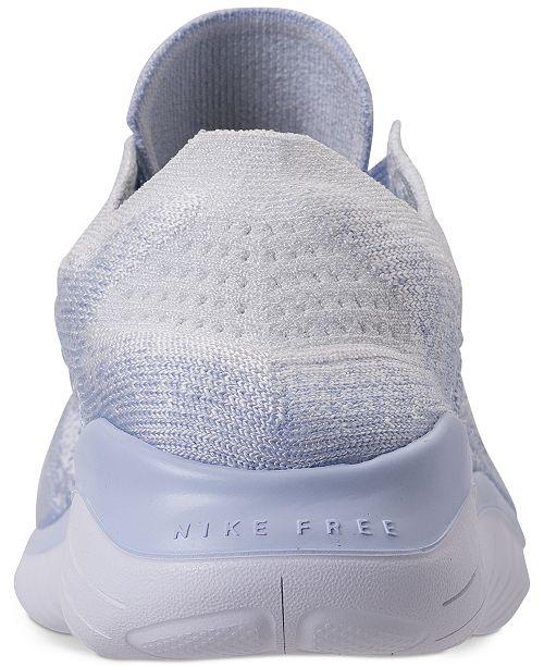Nike Women s Free Run Flyknit 2018 Running Sneakers from Finish Line ... 622516910