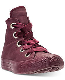 Converse Women's Chuck Taylor Big Eyelets High Top Casual Sneakers from Finish Line