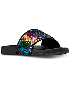 Steve Madden Little Girls' JLovey Slide Sandals from Finish Line