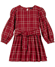 Tommy Hilfiger Big Girls Plaid Dress