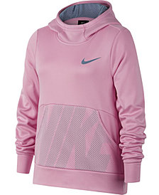Nike Big Girls Therma Pullover Hoodie