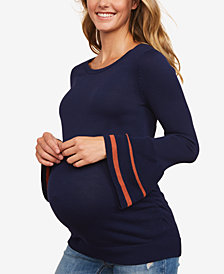 Motherhood Maternity Bell-Sleeve Sweater