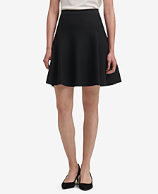 DKNY Knit A-Line Skirt, Created for Macy's