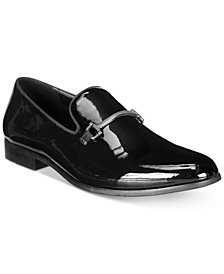 I.N.C. Men's Harrow Patent Bit Smoking Slippers, Created for Macy's