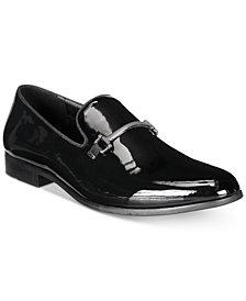 I.N.C. Men's Harrow Patent Bit Smoking Slippers, Created for Macy's