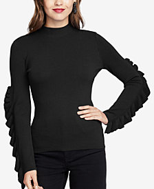 RACHEL Rachel Roy Callum Ruffled Sweater, Created for Macy's