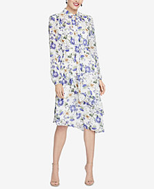 RACHEL Rachel Roy Victorian Tie-Neck Dress, Created for Macy's