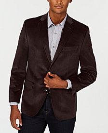 Michael Kors Men's Classic/Regular Fit Velvet Sport Coat