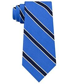 Men's Preppy Stripe Silk Tie