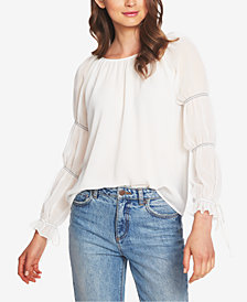1.STATE Cinched Illusion Top