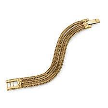 2028 Gold-Tone Clasp Bracelet