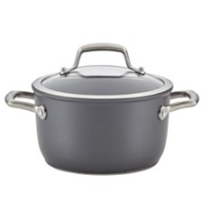 Anolon Accolade Forged Hard-Anodized Precision Forge 3.5qt Saucepot