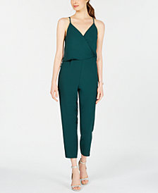 19 Cooper Sleeveless Surplice Jumpsuit