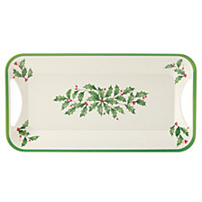 Lenox Holiday Holiday Melamine Tray with Handles