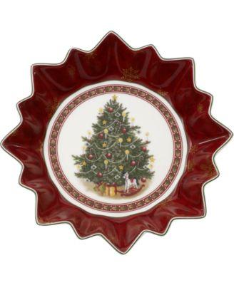 Toy's Fantasy Tree Large Porcelain Bowl