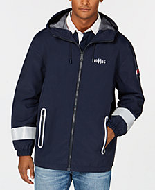 Tommy Hilfiger Men's Lunar Hooded Windbreaker, Created for Macy's