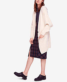 Free People Irreplaceable Long Oversized Cardigan