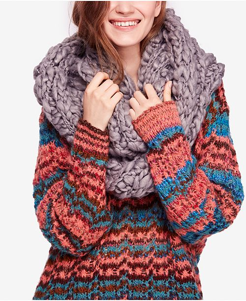 43fc65a20 Free People Dreamland Chunky-Knit Infinity Scarf & Reviews ...