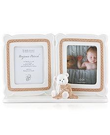 Lenox Baby Bear 5x7 Double Frame