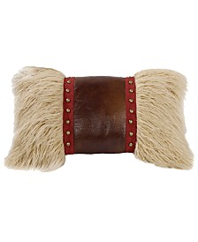 "Mongolian Fur 12""x19"" Pillow"