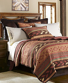 Broken Arrow 3 Pc King Quilt Set