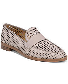 Franco Sarto Hudley Perforated Loafers