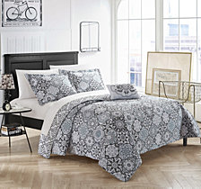 Chic Home Aspen 4 Piece Queen Quilt Set